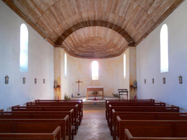 Our simple, pleasant, church at Villemorin